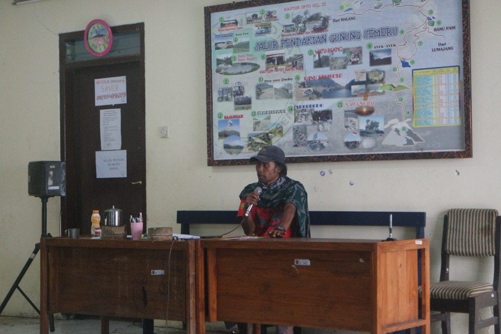 Briefing di Ranu Pani