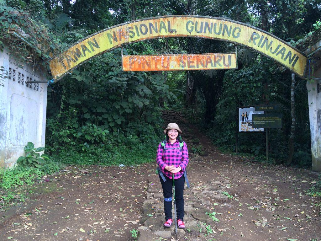 Akhir pendakian di KM 0 Senaru