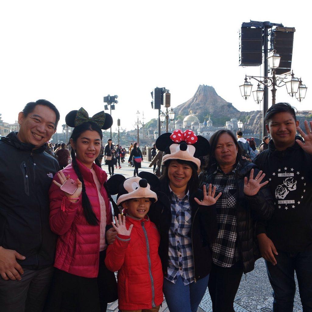 New Year at Tokyo Disneysea