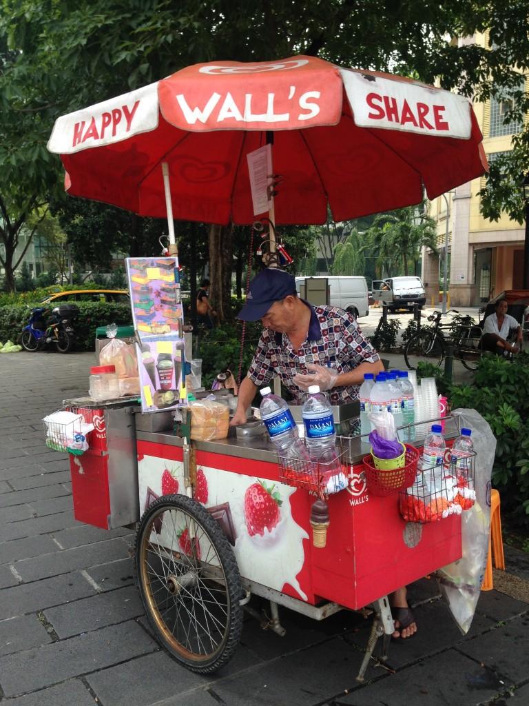 Gerobak Ice Cream Uncle