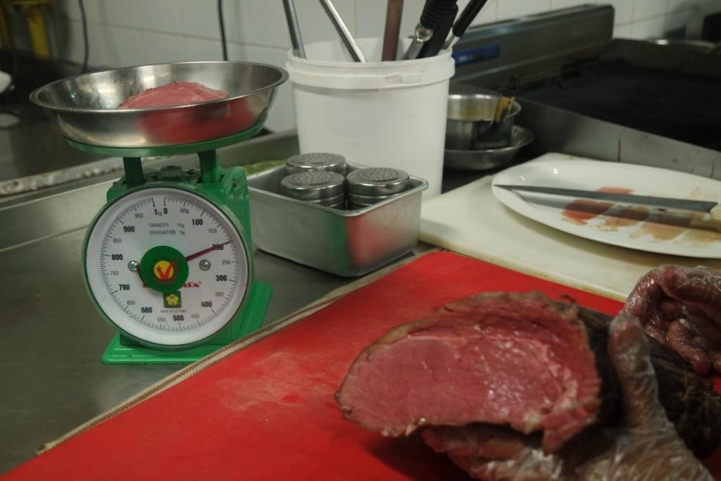 Pengukuran beef steak