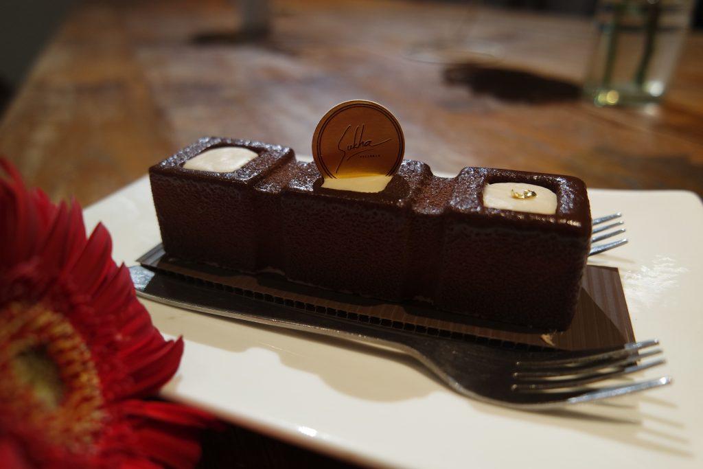 Gianduja Latte Cake