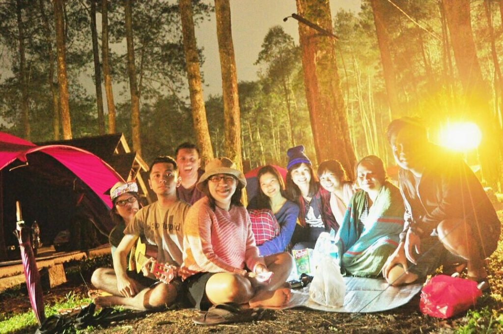 Glamping at Cikole with Genk Ceria