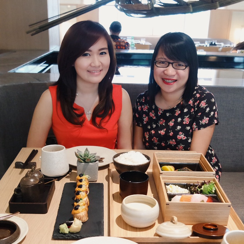 Oku Restaurant with Jessice